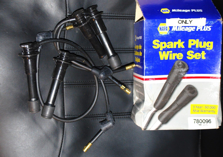 spark plug wires ford bronco f150 f250 f350 4 9l 1984 1985. Black Bedroom Furniture Sets. Home Design Ideas
