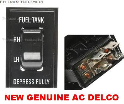 CHEVROLET GMC TRUCK FUEL SELECTOR DUAL SWITCH GAS TANK ALSO USED FOR  BIO FUEL CONVERSIONS SWITCH