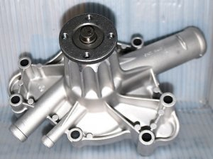 DODGE 318 DODGE 340 DODGE 360 Water Pump Aluminum Heavy Duty 8 Vane HI FLOW