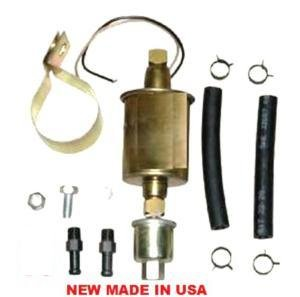 ELECTRIC FUEL PUMP 30gph 2.5psi-4psi 5/16 LINE 20GPH-30GPH UNIVERSAL IN LINE FUEL PUMP USA MADE