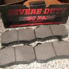DODGE VIPER BRAKE Pads Front SEVERE DUTY Premium Semi Metallic MADE BY ABEX COOPER WAGNER