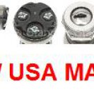 UNIVERSAL IGNITION SWITCH LOCK CYLINDER & 2 KEYS CAR AUTO TRUCK TRACTOR HOT ROD