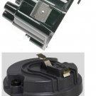 DISTRIBUTOR CAP & ROTOR Pontiac V8 WINDOW CAP & ROTOR FOR DELCO DISTRIBUTOR