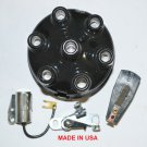 FORD MERCURY EDSEL 6 CYLINDER FORD 144 170 200 240 DISTRIBUTOR CAP ROTOR POINTS CONDENSER