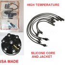 DISTRIBUTOR CAP ROTOR POINTS CONDENSER SPARK PLUG WIRES FORD MERCURY 6 CYLINDER 144 170 200 240