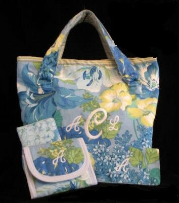 Monogrammed Custom Angela Tote Accessories