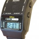 HUMAN VOICE A1 loud & clear ENGLISH TALKING ALARM WATCH, rooster crow sound
