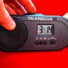ENGLISH SPEAKING CLOCK Talking Time Voice Alarm Snooze Human Voice