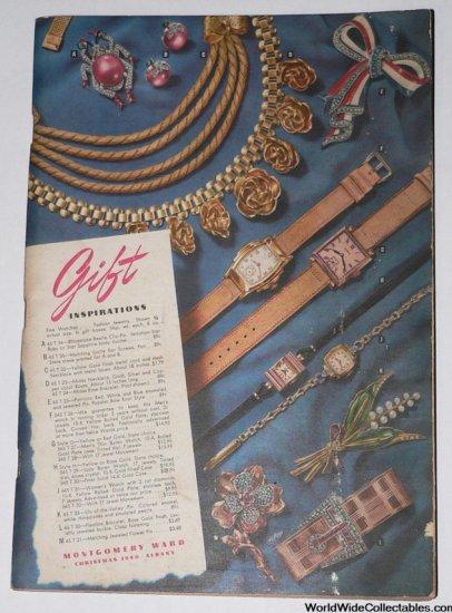 1940 MONTGOMERY WARD Christmas Catalog TOYS Albany NY