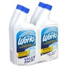 The Works Disinfectant Toilet Bowl Cleaner Pack ( 4  - 32oz. Bottles )