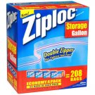 Ziploc - Gallon Storage Bags  (4 Pack / 52 ct. each)