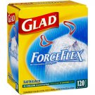 Glad ForceFlex Tall Kitchen  (120ct / 13 gal bags)