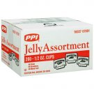 PPI - Jelly Assortment Packages (200 / .5 oz. single use cups)