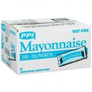 PPI - Mayonnaise Packets  (200 / 12g single use pouches)