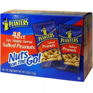 Planters - Salted Peanuts  (48 / 1 oz. bags)