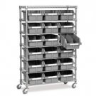 7-Tier Steel Bin Shelf Rack
