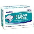 Marathon® - Beverage Napkins  (6 / 500 ct.)