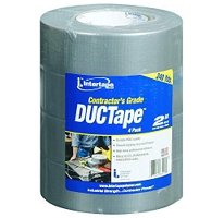Intertape® - Contractor's DucTape�  (4 pack Duct Tape)