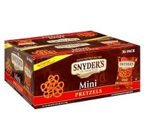 Snyder® Mini Pretzel  (36 / 1.5 oz. snack bags)