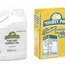 Popcorn Popping Combo - Popping Oil &  Premium Popcorn Salt