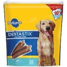 Pedigree® DentaStix® - Daily Oral Care Dog Snack Food For Large Dogs  (40 ct.)