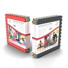Reversible Safety / Play Mats  (2 Pack / 8 mats each)