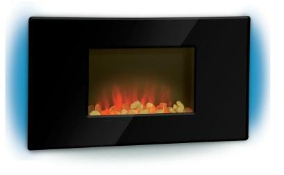 Flat Panel Wall Mount Electric Fireplace Heater