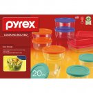 Pyrex Glass Storage Set  (20 pc.)
