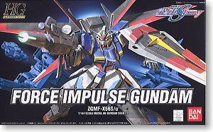 1/144 HG Force Inpulse Gundam Gundam SEED Destiny