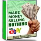 Make Money Selling NOTHING on eBay