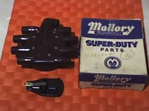 Cris Craft /Volvo Penta distributor cap/rotor; part#83441