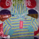 NEW GYMBOREE SUGAR AND SPICE VELOUR HOODIE 18-24 MOS
