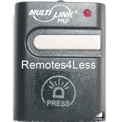Stanley 1050, 1082 compatible keychain garage door opener remote Sky Link SD-310 Multi Link