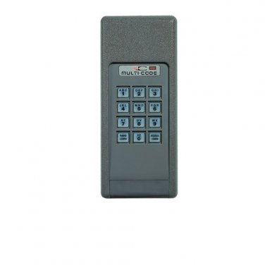 multi code 4200 wireless digital keypad keyless entry by linear mcs420001 multicode. Black Bedroom Furniture Sets. Home Design Ideas