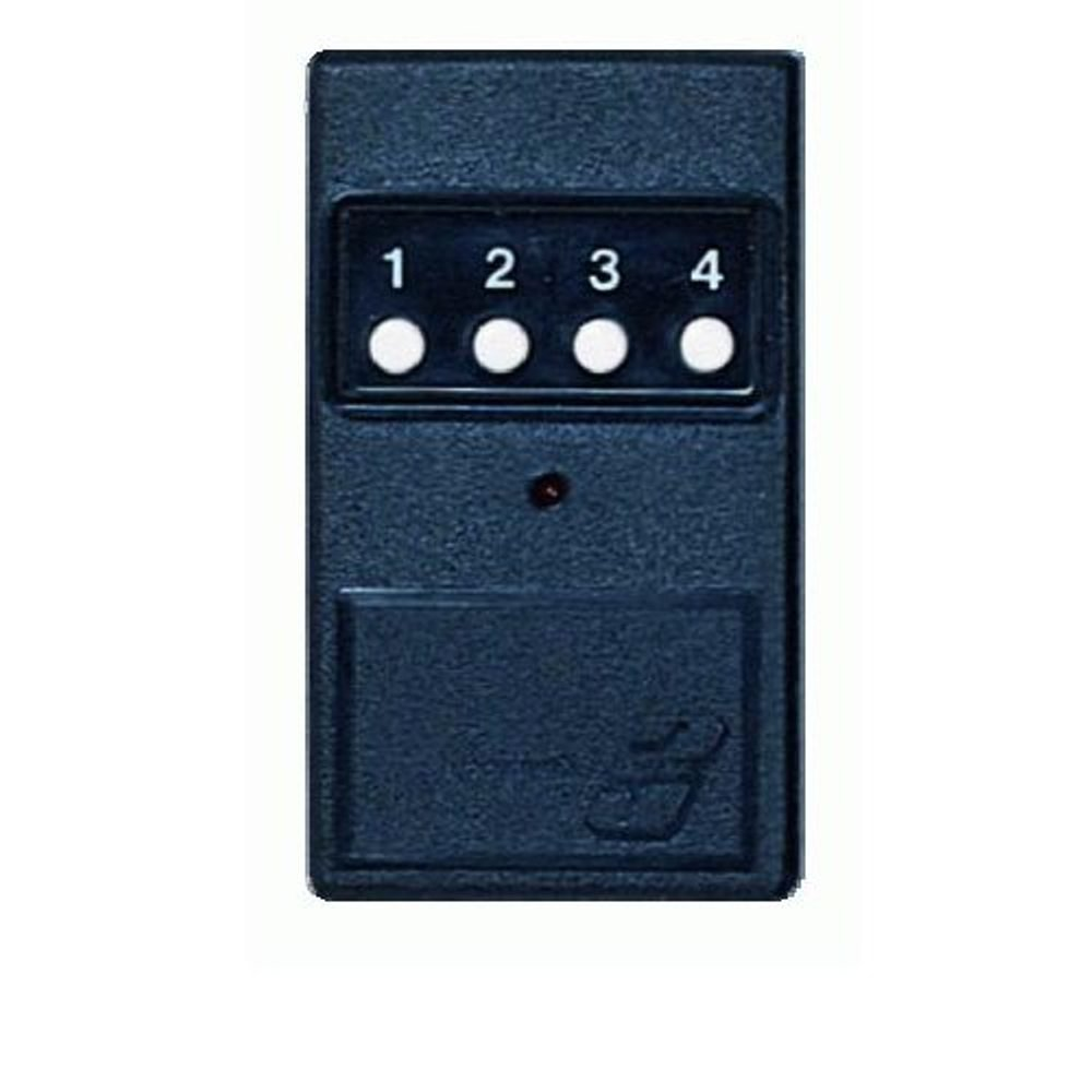 Linear Delta3 DT3+1 Four Button Gate Garage Door Opener Remote DNT00027A DT3+1