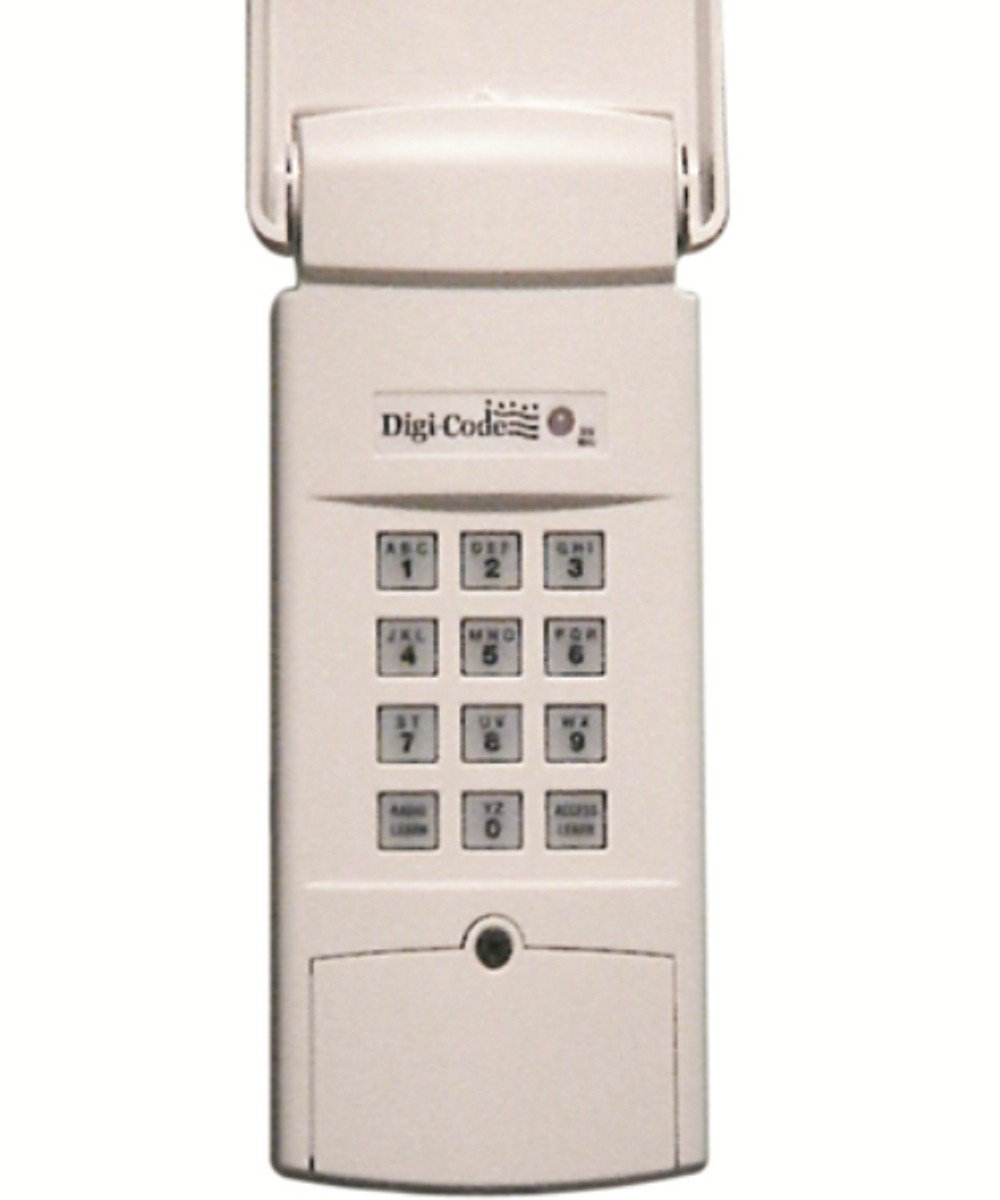Digi Code DC 5202 Wireless Digital Keypad Stanley 298601 STAKP Code Switch Garage Opener Compatible