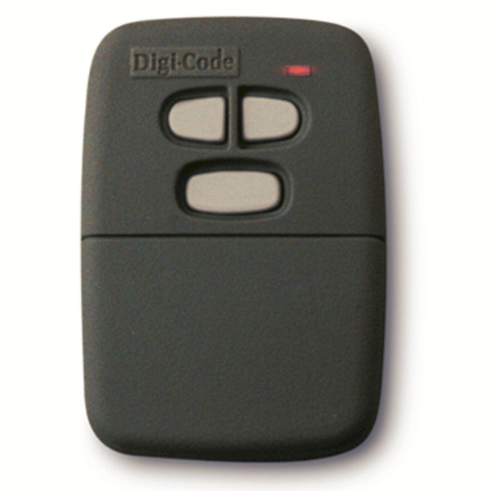 Digi Code 5032 Stanley Compatible 3 Button, 10 Code Switch Gate or Garage Door Opener Remote
