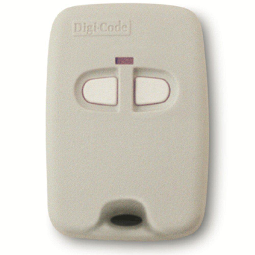 Digi Code 5070 Keychain remote compatible with Multi Code 3083 gate or garage door opener Digicode