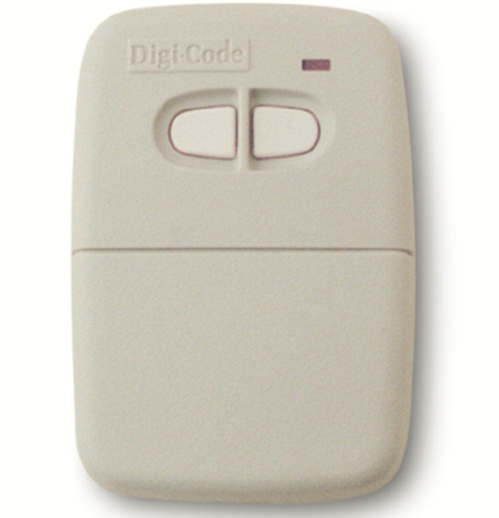 Digi Code 5060 remote compatible with Multi Code 4120 gate or garage door opener remote Digicode