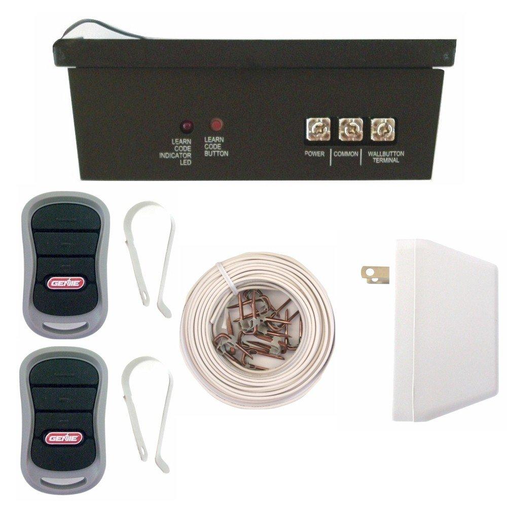 girud-2t genie garage door opener radio receiver 2 remotes conversion kit  3659r