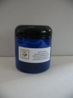 Handmade Fragranced Exfoliating Salt Scrub 8oz You Pick Scent