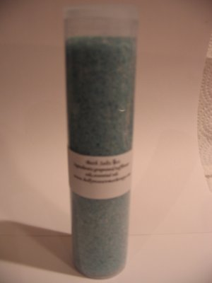 Handmade Fragranced Fizzing Bath Salts 8oz You Pick Scent