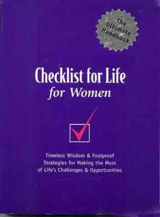 Checklist for Life for Women: How to live a Successful, Joy-Filled Life - Christian Growth