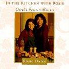 Oprah Winfrey Cookbook - In the Kitchen With Rosie - Oprah's Favorite Recipes