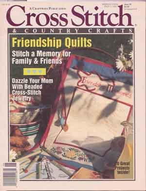 Group of 25 Needlecraft Magazines & Leaflets Plus Bonus Cross-stitch Kit With Matting