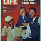 1966 Feb 4 Life Mag   Easter Island   Whitey Ford Ad   Sammy Davis Jr.