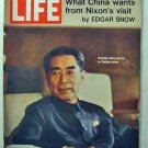1971 July 30 Life Mag  Nixon in China  Fedrico Fellini Photos & Drawings