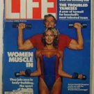 1982  October - Life Magazine:  Arnold Schwarzenegger & Conan Co-Star Sandahl Bergman