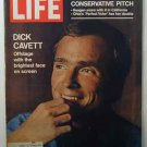 1970 Oct 30  Life Magazine:  Ronald Reagan.  Dick Cavett.  Carrie Nye.