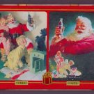 Coca Cola Nostalgia Playing Cards 2 Decks in Collectible Tin Santa Christmas